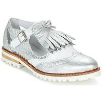 Chaussures Femme Derbies Regard RETAZO Blanc / Argent