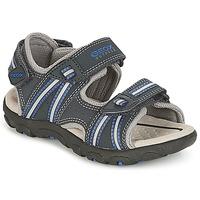 Chaussures Garçon Sandales sport Geox J S.STRADA A Marine