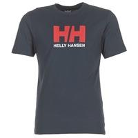 Vêtements Homme T-shirts manches courtes Helly Hansen HH LOGO Marine