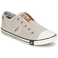 Chaussures Femme Baskets basses Mustang NAJERILLA Gris clair