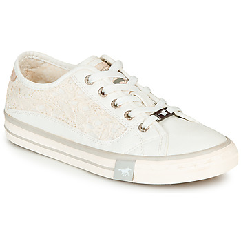 Chaussures Femme Baskets basses Mustang ROULIA Blanc