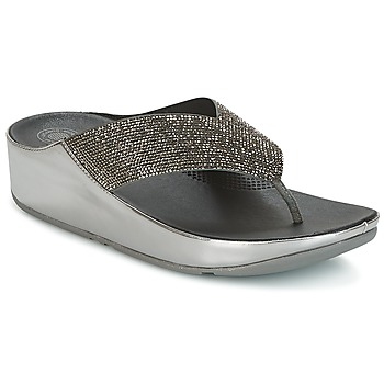 Chaussures Femme Mules FitFlop CRYSTALL Pewter