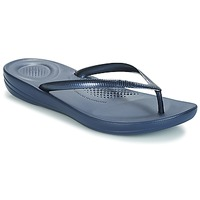 Chaussures Femme Tongs FitFlop IQUSHION ERGONOMIC FLIP-FLOPS Navy