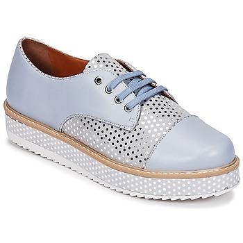 Chaussures Femme Derbies Cristofoli FILIPY Bleu