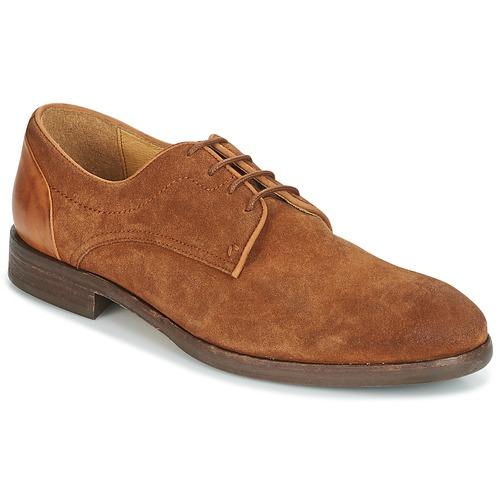 Hudson DREKER Tan - Livraison Gratuite avec - Chaussures Derbies Homme
