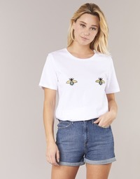 Vêtements Femme T-shirts manches courtes Moony Mood I-ANTHOPHILA Blanc