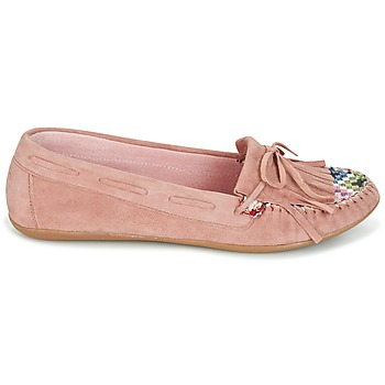 Mocassins Ippon Vintage MOC-WAX-ROSE