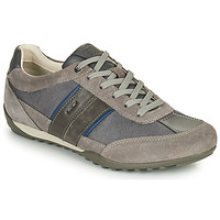 Chaussures Homme Baskets basses Geox U WELLS C Gris