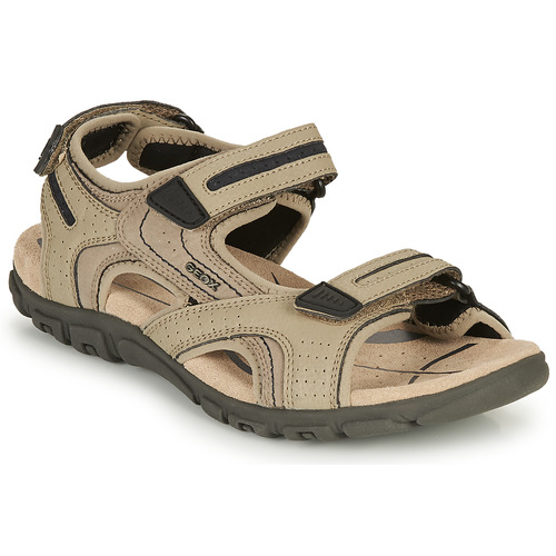 Chaussures Homme Sandales sport Geox S.STRADA D Sable  / Noir