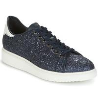 Chaussures Femme Baskets basses Geox D THYMAR C Bleu / Blanc