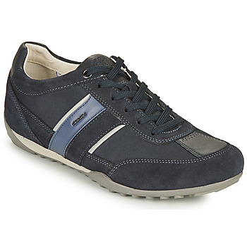 Chaussures Homme Baskets basses Geox U WELLS C Bleu