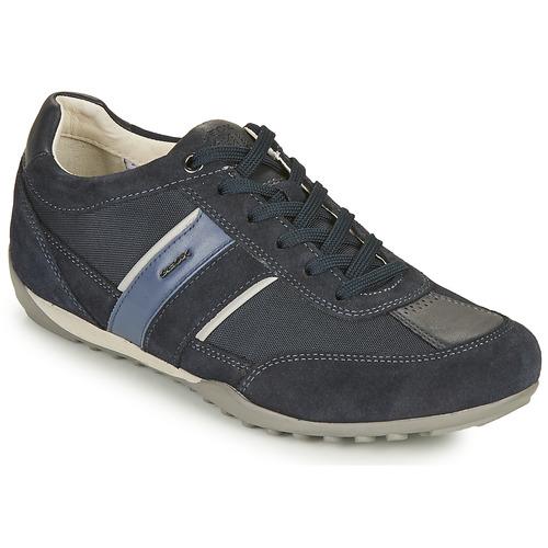 Geox Chaussures U WELLS A Geox solde Chaussure Superstar Geox Chaussures U WELLS A Geox solde Bonprix - Slippers confortables en cuir noir pour femme Chaussures à lacets Casual femme Fic0qA
