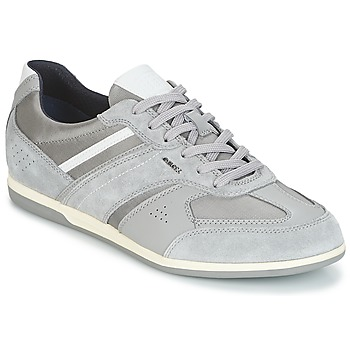 Chaussures Homme Baskets basses Geox U RENAN A Gris