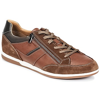 Chaussures Homme Baskets basses Geox U RENAN C Marron