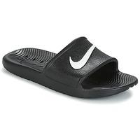Chaussures Femme Claquettes Nike KAWA SHOWER SANDAL W Noir / Blanc