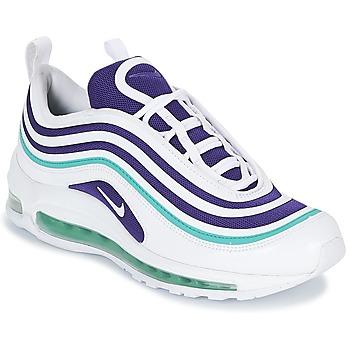 Chaussures Femme Baskets basses Nike AIR MAX 97 ULTRA '17 SE W Blanc / Violet / Vert