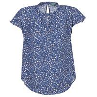 Vêtements Femme Tops / Blouses Benetton TOULEOK Bleu / Blanc