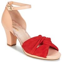 Chaussures Femme Sandales et Nu-pieds Miss L'Fire EVIE Rouge / Rose