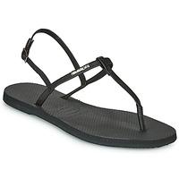 Chaussures Femme Sandales et Nu-pieds Havaianas YOU RIVIERA Noir