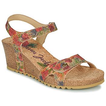 Chaussures Femme Sandales et Nu-pieds Panama Jack JULIA Rouge