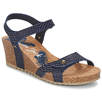 Chaussures Femme Sandales et Nu-pieds Panama Jack JULIA Marine