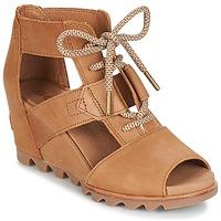 Chaussures Femme Sandales et Nu-pieds Sorel JOANIE LACE Marron