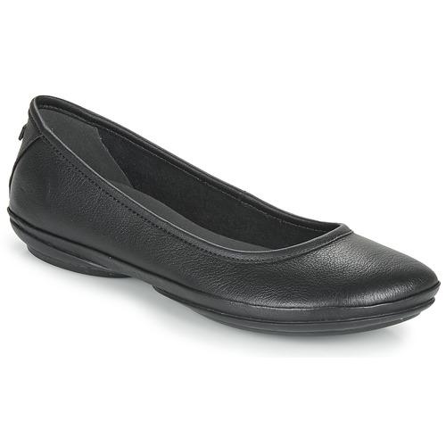 Chaussures Femme Ballerines / babies Camper RIGHT  NINA Ballerine Noir