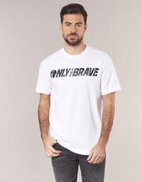 Vêtements Homme T-shirts manches courtes Diesel T JUST SV Blanc