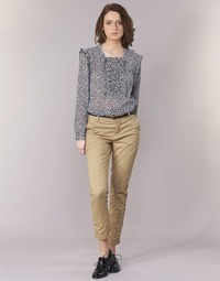 Vêtements Femme Chinos / Carrots Maison Scotch BEIBEO Beige