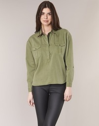 Vêtements Femme Tops / Blouses Maison Scotch BRAVO Kaki