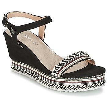 Chaussures Femme Sandales et Nu-pieds Kaporal SLYDE Noir