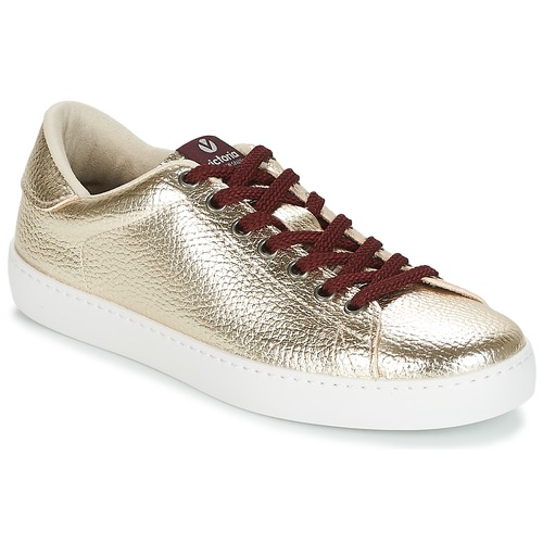 d42328286c4958 Victoria DEPORTIVO METALIZADO Doré - Chaussure pas cher avec Shoes ...