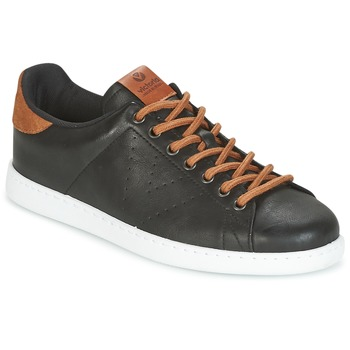 Chaussures Homme Baskets basses Victoria DEPORTIVO PU CONTRASTE Noir