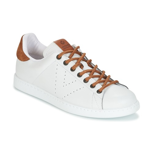Chaussures Homme Baskets basses Victoria DEPORTIVO PU CONTRASTE Blanc