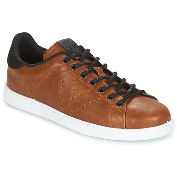 Chaussures Homme Baskets basses Victoria DEPORTIVO PU CONTRASTE Marron