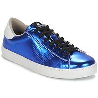 Chaussures Femme Baskets basses Victoria DEPORTIVO METALIZADO Bleu