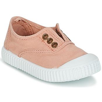Chaussures Fille Baskets basses Victoria INGLESA LONA TINTADA Rose