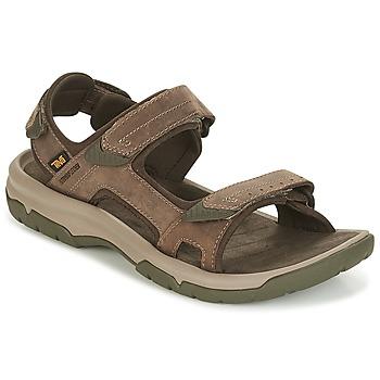 Chaussures Homme Sandales et Nu-pieds Teva LANGDON SANDAL Marron