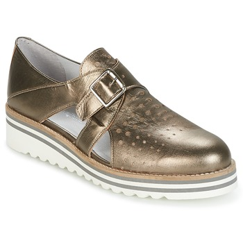 Chaussures Femme Derbies Philippe Morvan DISCO Bronze