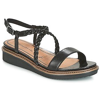 Chaussures Femme Sandales et Nu-pieds Tamaris GACAPIN Noir