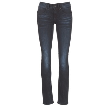 Vêtements Femme Jeans droit G-Star Raw MIDGE SADDLE MID STRAIGHT Rink