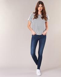 Vêtements Femme Jeans skinny G-Star Raw MIDGE ZIP MID SKINNY Neutro