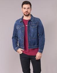 Vêtements Homme Vestes en jean G-Star Raw D-STAQ 3D DC S JKT Medium Vintage Aged