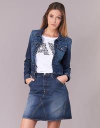 Vêtements Femme Vestes en jean G-Star Raw D-STAQ S DC DNM JKT WMN Medium Aged