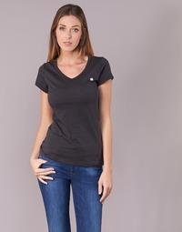 Vêtements Femme T-shirts manches courtes G-Star Raw EYBEN SLIM V T WMN S/S Noir