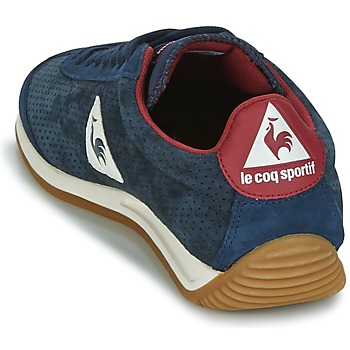 Le Coq Sportif QUARTZ PERFORATED NUBUCK Bleu / Rouge