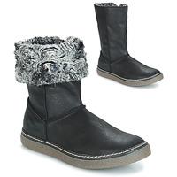 Chaussures Fille Bottes ville GBB DUBROVNIK NUB NOIR DPF/GLEN