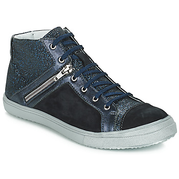 Chaussures Fille Bottes ville GBB KAMI VTS MARINE DPF/BASKET