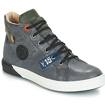 Chaussures Garçon Bottes ville GBB SILVIO Gris