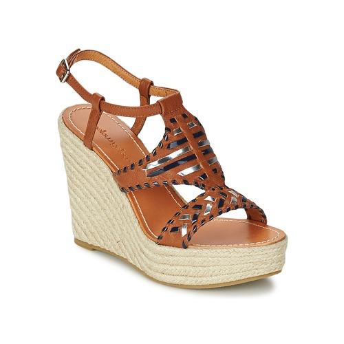 Chaussures Femme Sandales et Nu-pieds Mellow Yellow SAKE Camel